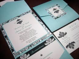 Red And Black Wedding Invitations Black Damask Wedding Invitation U2013 A Vibrant Wedding