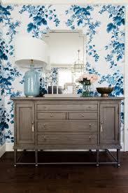 Blue And White Wallpaper by 112 Best Decor Wallpaper Images On Pinterest Fabric Wallpaper
