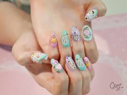 44 best kawaii nails images on pinterest kawaii nails 3d nails