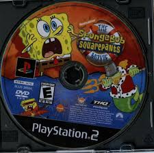 110 6251 sony playstation 2 the spongebob squarepants movie