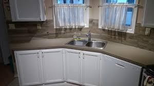 X Faux Wood Porcelain Backsplash Good Morning Flooring - Porcelain backsplash