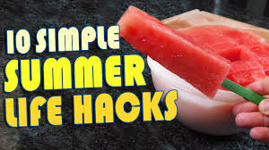 10 summer life hacks to try right now youtube