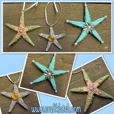 craft klatch beachy starfish ornaments