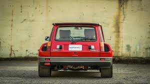 renault r5 turbo glorious 1985 renault r5 turbo 2 evolution is the perfect hatch
