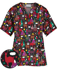 print scrub tops for large selection and discount pricing by ua