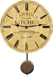 personalized clocks with pictures personalized kitchen clock s day personalized kitchen clock