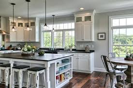 kitchen island with shelves kitchen island open shelves trendy display kitchen islands open