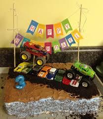 monster truck birthday cake u2014 c bertha fashion monster truck