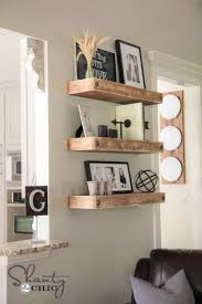 How To Decorate Floating Shelves Rustic Home Decor Ideas Zamp Co