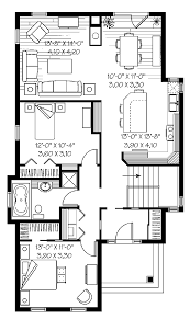 One Level Home Floor Plans One Story House Plans Without Garage Home Act