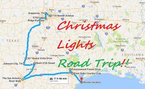 johnson city texas christmas lights the road trip to the best christmas lights in texas in 2016