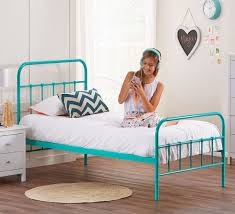 Turquoise Bed Frame Willow Single Bed Beds Bedroom Mattresses Categories