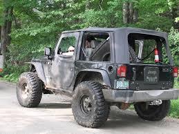jeep jku 35s spare tire delete pros cons pics