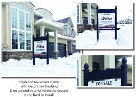 real estate signs sign posts open house signs a frames orea