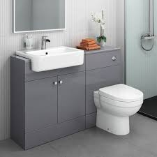 Bathroom Vanity Unit With Basin And Toilet Oak 600mm Bathroom Vanity Unit Wall Mounted And Toilet Furniture