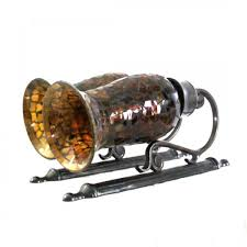 Mosaic Wall Sconce Bombay U0026 Co Brown Mosaic Wall Candlestick Holder Just For You