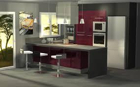 cuisiniste vichy incroyable cuisine moderne aubergine idées de design maison et