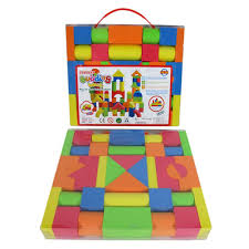 aliexpress com buy mixed colors eva puzzle building toy for