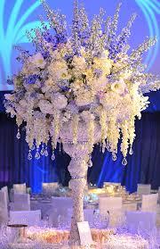 flower arrangements for weddings bailey designs cascading centerpiece 2 centerpiece