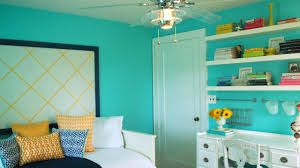interior design teen bedroom color combination with bright pink