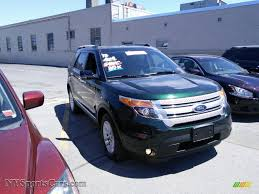 Ford Explorer Xlt 2013 - 2013 ford explorer xlt 4wd in green gem metallic a77718