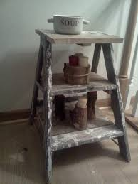 Short Ladder Bookcase by Interior Rustic Ladder Shelf In Gorgeous Designs Custom Decor