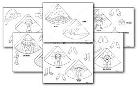 nativity ornaments to print teach sunday school