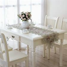 Dining Room Linens Dining Tablecloth Chair Cover Set Jacquard Printed Flower Table