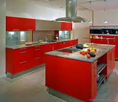 Interior Design Ideas For Kitchen Color Schemes by Pictures Of Kitchens Modern Red Kitchen Cabinets
