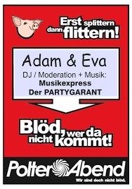 polterabend flyer musikexpress die top dj s für ihre veranstaltung