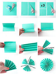 paper decorations fold out paper decorations accordion folded paper flower