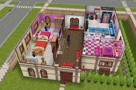 Home Design For Sims Freeplay House One Second Floor Plan Sims Freeplay House Design