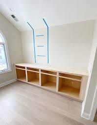 how to install lower cabinets how to install diy built in cabinets the diy playbook