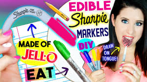where to buy edible markers diy edible sharpie markers eat sharpies whole draw on tongue