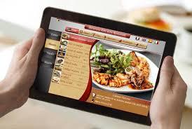 tablette special cuisine présenter vos menus sur une tablette numérique