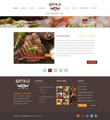Buffalo Home Decor Buffalo Cafe U0026 Restaurant Wordpress Theme By Template Path