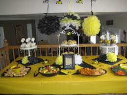 Bumble bee themed baby shower ideas 10 tips for good party