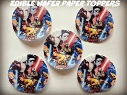 buy star wars clone wars cake decorations 24 cut out and apply