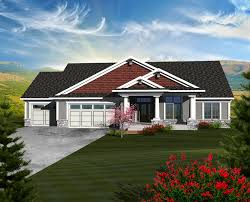 craftsman farmhouse plans cainelle craftsman ranch home plan 051d 0750 house plans and more