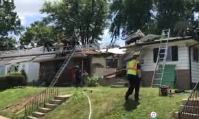 video suv crashes through roof of missouri house wsbt