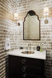 Bathroom Mirrors Chicago Bathroom Mirror Ideas Black And White Wallpaper Transitional