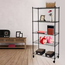 Metal Storage Shelves Online Get Cheap Storage Shelves Wheels Aliexpress Com Alibaba