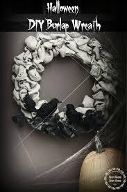 halloween burlap wreath diy burlap wreath dressed for halloween new house new home