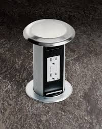 carlon pop up kitchen receptacle from thomas u0026 betts provides a