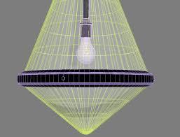 circa lighting large gale hanging pendant 3d model max obj 3ds