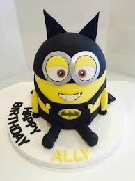 minion birthday cake batman minion birthday cake picture of caledonian designer cakes