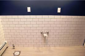 unique subway tile bathroom ideas