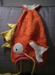 free knitting pattern for magikarp go hat magikarp go hat this