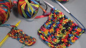 knit drop stitch stripe pattern youtube