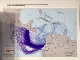 map of south america and mexico here s how drugs are getting smuggled from south america to the us